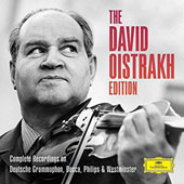 The David Oistrakh Edition - Complete Recordings on DG Decca, Philips & Westminster: Concertos & chamber works by Beethoven, Stravinsky, Mozart, Bach, Prokofiev, Bruch et al.  [22 CDs]