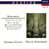 Schubert: Mass No 6 in E-flat Major D 950 / George Guest