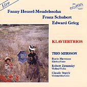 Schubert, Grieg, Fanny Mendelssohn: Piano Trios / Mersson