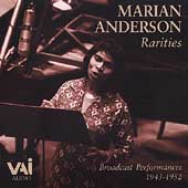 Marian Anderson - Rarities - Broadcast Performances 1943-52