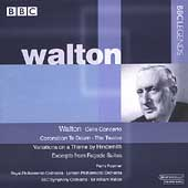 Walton: Cello Concerto, Te Deum, etc / Walton, Fournier