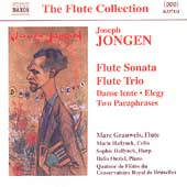 The Flute Collection - Jongen: Flute Sonata, etc / Grauwels