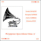 Symposium Opera Collection Vol 11 - Cannetti, Caprile, et al
