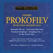 Prokofiev: Orchestral Masterpieces /Rossi, Somary, Abravanel