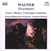 Wagner: Overtures / Rahbari, Malaga PO