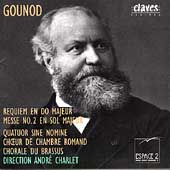 Gounod: Requiem en Do Majeur, Messe no. 2 / André Charlet