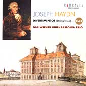 Haydn: Divertimentos Vol 2 / Vienna Philharmonia Trio