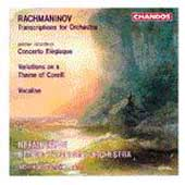 Rachmaninov: Transcriptions for Orchestra / Järvi, Detroit