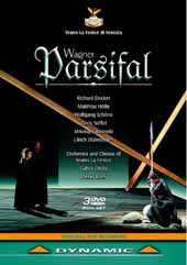 Wagner: Parsifal / Decker, Holle, Schone, Soffel, Otvos/Venice Teatro la Fenice [3 DVD]