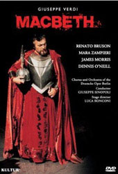 Macbeth - Verdi/Deutsche Oper Berlin [DVD]
