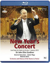 New Year's Concert 2013 - Tchaikovsky: Symphony no. 2; Rossini; Verdi: arias & orchestral works / Desirée Rancatore, soprano (live, 1/1/2013) [Blu-Ray]