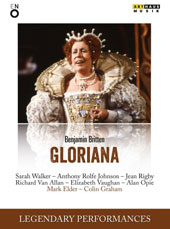 Benjamin Britten: Gloriana / Sarah Walker, Anthony Rolfe Johnson, Jean Rigby, Richard Van Allan, Elizabeth Vaughan, Alan Opie. Mark Elder, English Nat'l Opera (live, London Coliseum 1984) [DVD]