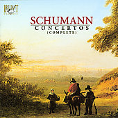 Schumann: Concertos (Complete) / Masur, Ricci, Frankl, et al