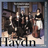 Joseph & Michael Haydn: Divertimenti / Sch&#246;nbrun Ensemble