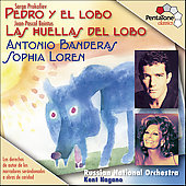 Prokofiev: Pedro y el lobo;  Beintus: Las huellas del lobo
