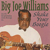 Big Joe Williams: Shake Your Boogie: Live at the Old Capitol Building 1974