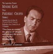Chopin: Works for Piano Vol 1 / Mindru Katz
