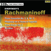 Rachmaninov: Piano Concertos no 2 & 3, Rhapsody on a Theme of Paganini, Piano Sonata no 2, etc