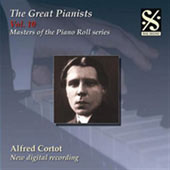Masters of the Piano Roll - The Great Pianists Vol 10 / Alfred Cortot