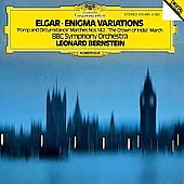 Elgar: Enigma Variations, etc / Bernstein, BBC Symphony