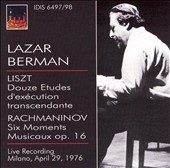 Lazar Berman plays Liszt & Rachmaninov