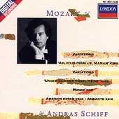 Mozart: Piano Variations, etc / András Schiff