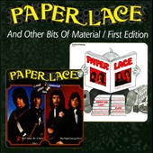 Paper Lace: And Other Bits Of Material/First Edition *