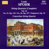 Spohr: String Quartets (Complete), Vol. 14