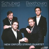 Schubert: String Quartet D 887; Beethoven: String Quartet Op. 135 / New Orford String Quartet