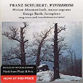 Merit - Schubert: Winterreise / Abramowitsch, Barth