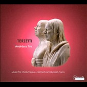 Terzetti: Music for chalumeaux, clarinets and basset horns by Graupner, Druschetzky, Mozart / Andrássy Trio