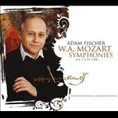 Mozart: Symphonies, Vol. 2 - 5 early works, (1767-1768) / Adam Fischer, Danish Nat'l SO