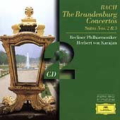 Bach: The Brandenburg Concertos, etc / Karajan, Berlin PO
