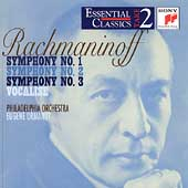 Take 2 - Rachmaninoff: Symphonies no 1-3, etc / Ormandy