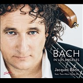 Bach in Los Angeles - J.S. Bach: 15 Inventions, BWV 772-786; Suite for solo cello No. 1 et al. / Jacques Bono, electric bass; Tien-Hsin Cindy Wu, violin