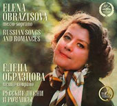 Russian Songs and Romances / Elena Obraztsova, mz; USSR TV & Radio Russian Folk Orch.