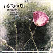 Boccherini: 6 Flute Quintets Op 55 / Faust, Auryn Quartet