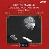Mahler: Das Lied von der Erde / J&#228;nicke, Elsner, et al