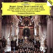 Mozart: Grosse Messe KV 427, etc / Leonard Bernstein