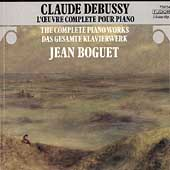 Debussy: L'Oeuvre Complete Pour Piano / Jean Boguet