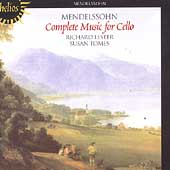 Mendelssohn: Complete Music for Cello / Lester, Tomes