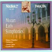 Mozart: Early Symphonies / Kehr, Mainz Chamber Orchestra