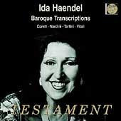Baroque Transcriptions - Corelli, Nardini, et al / Haendel