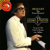 Mozart: The Piano Quartets / André Previn