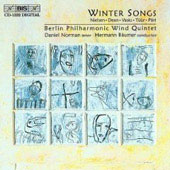 Winter Songs - Dean, Tuur, Vasks, Pärt, Nielsen / Norman