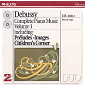 Debussy: Complete Piano Music Vol 1 / Werner Haas