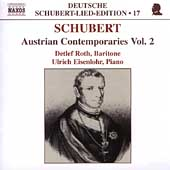 Deutsche Schubert-Lied-Edition 17 -Austrian Contemporaries 2