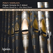 Whitlock: Organ Sonata in C minor, etc / John Scott