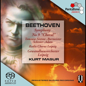 Beethoven: Symphony no 9 / Masur, et al