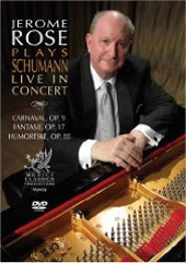 Jerome Rose Live In Concert / Schumann [DVD]